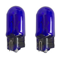 W5W T10 5W Halogen Birnen Lampen PAAR blau für diverse Fahrzeuge 12V Leselampe