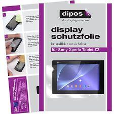 2x Sony Xperia Tablet Z2 Protector de Pantalla protectores transparente