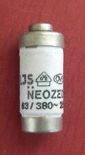 1 Stück Neozed-Sicherung Sicherungsgröße = D02 63 A 400 V~; 250=