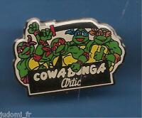 Pin's pin RARE BD TORTUE NINJA COWABUNGA ARTIC (ref L09)