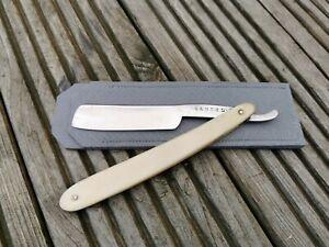 Army & Navy Vintage Sheffield Cut Throat Straight Razor Shave Ready