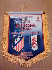 Banderin Atletico de Madrid - Fulham/Final Europe League 2010