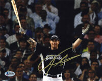 JOSH HAMILTON SIGNED AUTOGRAPHED 8x10 PHOTO TEXAS RANGERS LEGEND BECKETT BAS
