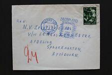 NEDERLAND 1964 brief met 24 cent te betalen port stempel
