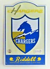 "NFL San Diego Chargers Retro Tin Sign Man Cave Wall Bar Decor  17.5"" H x 11.5"" W"