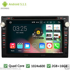 Android 5.1 Car DVD Player Radio GPS For VW Jetta Polo Bora Golf 4 Passat B5 T5
