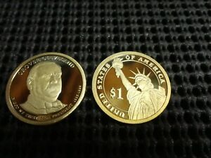 2012-S  Proof Grover Cleveland  Presidential Dollar  22nd