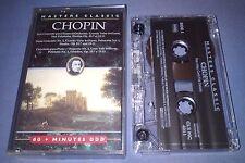 CHOPIN MASTERS CLASSIC classical music cassette T3152