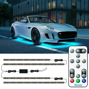 Govee Exterior Car LED Lights, RGB Underglow Car Lights with Remote Control, ...