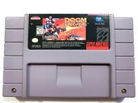 AUTHENTIC Doom Troopers SNES Super Nintendo Game Tested + Working! Original!
