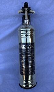 Old Antique Vintage Fire Extinguisher