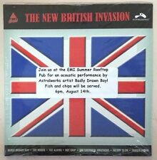 The New British Invasion (Sealed Promo CD) Tracey Thorn Chemical Brothers Kooks