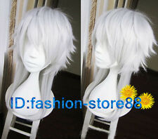 DRAMAtical Murder DMMD Aoba Gradient Long Anime Cosplay Party Costume Wigs
