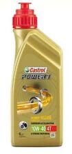 Castrol 1 litro Olio Motore Moto Power1 10W-40 4T Semi-Sintetico Power Relase
