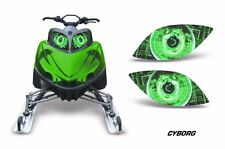 Headlight Eye Graphics Kit Decal Cover For Arctic Cat M Series Crossfire CYBRG G