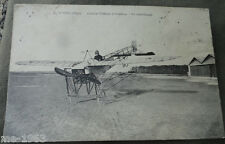 Original aviateur photo AK France avion tourné 1913 Aachen Bourges