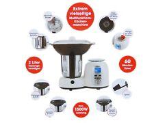 Gourmetmaxx Thermo Multikocher Premium 1500W Kochen Mixen 10in1 Küchenmaschine W