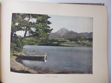 AUTRICHE-TYROL : Gravure 19° in folio couleur / SAAKERSEE