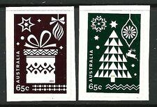 2014 Australia - Christmas (2) MUH self adhesives ex embellished sheetlets