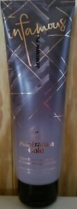 NEW Australian Gold Infamous Eighth Dimension Bronzer Tanning Lotion Sunbed