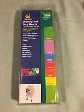 *PAWZ Top Paw Waterproof Reusable Dog Boots 12 Pack TINY - NEW IN BOX NIB