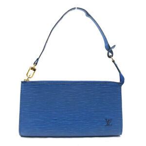 LOUIS VUITTON Pochette Accessois Pouch Toledo Blue M52945