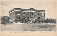 OSKALOOSA IA – Central Holiness University