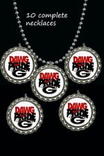 Georgia Bulldogs Dawg pride nike symbol Necklaces great party favors lot of 10