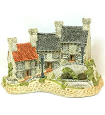 David Winter Cottages The Midlands Collection Miners Row 1987 Coa Box Perfect
