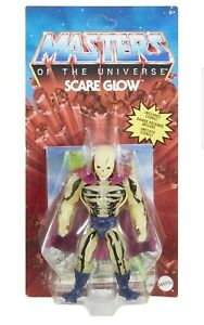 Masters Of The Universe Origins Scare Glow Figure In Hand Not Mint