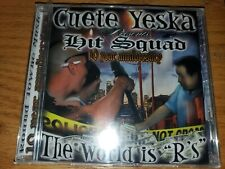 """Chicano Rap-Cuete Yeska Presents Hit Squad(The World Is """"R's"""")"""