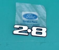 FORD GRANADA, CAPRI 2.8 BADGE, NEW, GENUINE FORD. POST FREE UK !