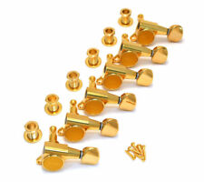 NEW - Gotoh Gold Sealed 6 Inline Mini Tuners for Strat/Tele® Guitar TK-0760-002