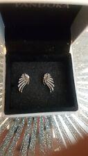 Pandora majestic feather earings