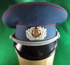 EAST GERMAN GST DISTRICT LEADERS OFFICER'S VISOR HAT 1988 SIZE 59 #124