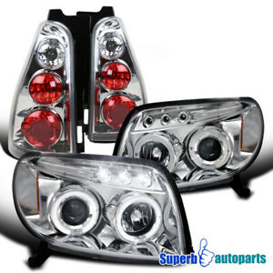 For 2003-2005 Toyota 4Runner LED Halo Projector Headlights+Tail Light