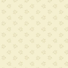 Hat Box Fabric Berries Bisque A-9280-L Berry Sprigs on Cream Quilt Shop Quality