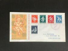 NEDERLAND 1958 Kinderzegels NVPH E36 gesloten flap