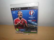 UEFA Euro 2016 France PES 2016 Pro Evolution Soccer Sony  PS3 new sealed