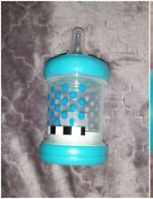 New Blue Sassy Cereal Feeder Baby Bottle Food 4oz