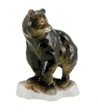 Hungarian Porcelain Hollohaza Bear Figurine