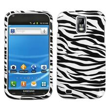 Zebra HARD Protector Case Phone Cover for T-Mobile Samsung Galaxy S II 2 T989