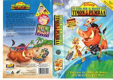 In giro per il mondo con Timon e Pumbaa (1995) VHS