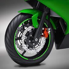 Felgenrand NEON Aufkleber GP STYLE Motorrad Streifen Felgenaufkleber #1044