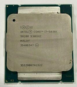 Intel Core i7-5930K Haswell-E 6-Core 3.5 GHz LGA 2011-v3 140W BX80648I75930K