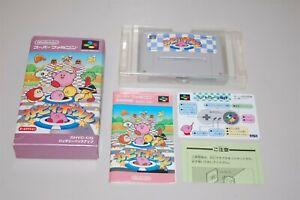 Kirby Bowl Dream Course Japan Nintendo Super Famicom sfc game