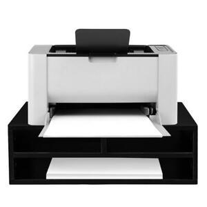 Printer Stand Desk Desktop Organizer File Drawer Office Storage Shelf Uk