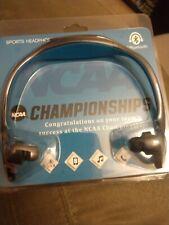 NCAA Championships Promo Sport Bluetooth Wirelesz Headphones, NIB