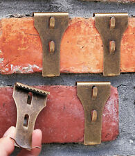 Set 4 Brick Clip Fastener Hangers Hanging Decoration Brick Wall Fireplace Hooks