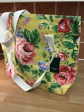 Laura Ashley Home Large Floral shopper bag Yellow/Pink NEW